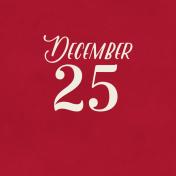 Christmas Day- JC December 25 3x3
