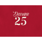 Christmas Day- JC December25 4x3