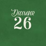 Christmas Day- JC December 26 3x3
