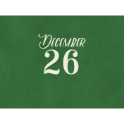Christmas Day- JC December 26 4x3