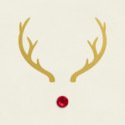 Christmas Day- JC Rudolph Gold 3x3