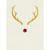 Christmas Day- JC Rudolph Gold 3x4