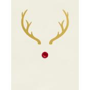 Christmas Day- JC Rudolph Gold 3x4