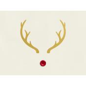 Christmas Day- JC Rudolph Gold 4x3