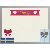 Christmas Day- JC Wish List 4x3
