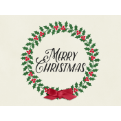 Christmas Day- JC Wreath 4x3