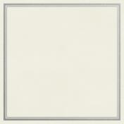 Christmas Day- JC Frame Silver 3x3