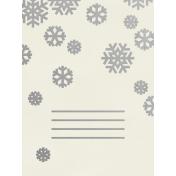 Christmas Day- JC Snowflakes Silver 3x4