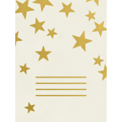 Christmas Day- JC Stars Gold 3x4