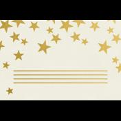 Christmas Day- JC Stars Gold 4x6