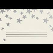 Christmas Day- JC Stars Silver 4x6
