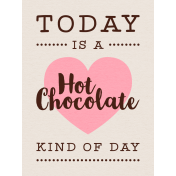 For The Love Of Chocolate- JC Hot Chocolate