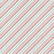 For The Love Of Chocolate- Paper Stripes Diagonal