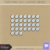Christmas Day-AdventBrad-Snowflake-Silver