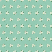 Picnic Day- Paper Flower Clusters Mint