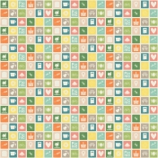 Picnic Day- Paper Icons Multi