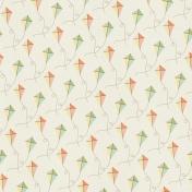 Picnic Day- Paper Kites White