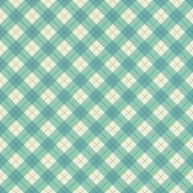 Picnic Day- Paper Plaid Large Blue