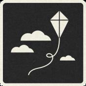 Picnic Day_Pictogram Chip_Black_Kite