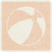 Picnic Day_Pictogram Chip_Beige_Ball