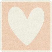 Picnic Day_Pictogram Chip_Beige_Heart