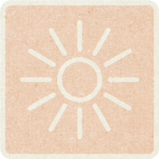 Picnic Day_Pictogram Chip_Beige_Sun