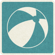 Picnic Day_Pictogram Chip_Blue_Ball