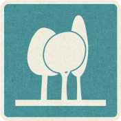 Picnic Day_Pictogram Chip_Blue_Trees