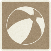 Picnic Day_Pictogram Chip_Brown_Ball