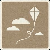 Picnic Day_Pictogram Chip_Brown_Kite