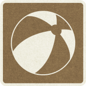 Picnic Day_Pictogram Chip_Brown Dark_Ball