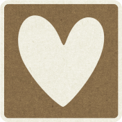 Picnic Day_Pictogram Chip_Brown Dark_Heart