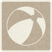 Picnic Day_Pictogram Chip_Brown Light_Ball