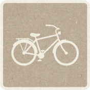Picnic Day_Pictogram Chip_Brown Light_Bicycle