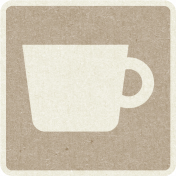 Picnic Day_Pictogram Chip_Brown Light_Cup