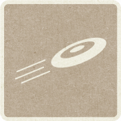 Picnic Day_Pictogram Chip_Brown Light_Frisbee