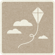 Picnic Day_Pictogram Chip_Brown Light_Kite