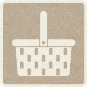 Picnic Day_Pictogram Chip_Brown Light_Picnic Basket