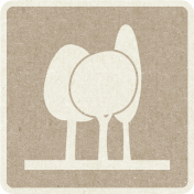 Picnic Day_Pictogram Chip_Brown Light_Trees