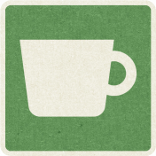 Picnic Day_Pictogram Chip_Green_Cup