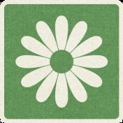 Picnic Day_Pictogram Chip_Green_Flower