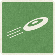 Picnic Day_Pictogram Chip_Green_Frisbee
