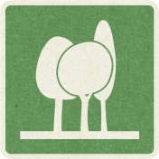 Picnic Day_Pictogram Chip_Green_Trees