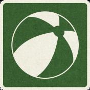 Picnic Day_Pictogram Chip_Green Dark_Ball