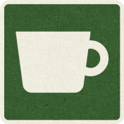 Picnic Day_Pictogram Chip_Green Dark_Cup