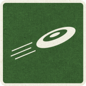 Picnic Day_Pictogram Chip_Green Dark_Frisbee