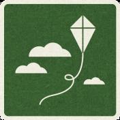 Picnic Day_Pictogram Chip_Green Dark_Kite