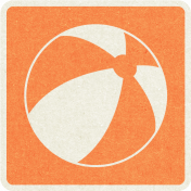 Picnic Day_Pictogram Chip_Orange_Ball