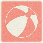 Picnic Day_Pictogram Chip_Pink_Ball