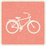 Picnic Day_Pictogram Chip_Pink_Bicycle